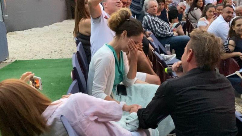 Leánykérés koncert közben: Mészáros Árpád Zsolt kedvese igent mondott