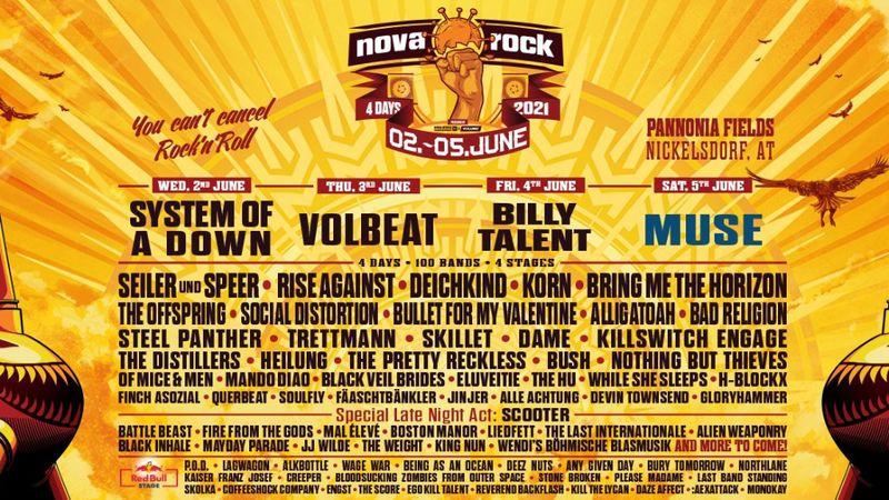 A System of a Down mellé felsorakozott a Muse is: jövőre a Nova Rockra kell menni