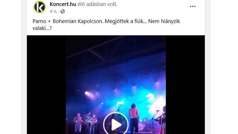 Októbertől nem tudunk élőben bejelentkezni a koncertekről