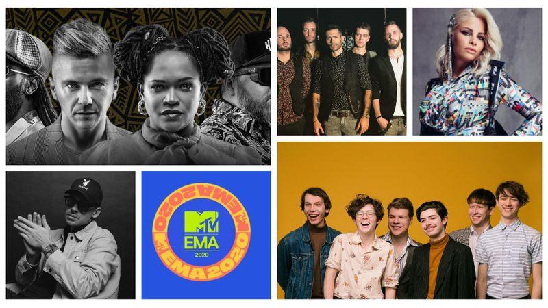 Ők a 2020-as MTV EMA magyar jelöltjei