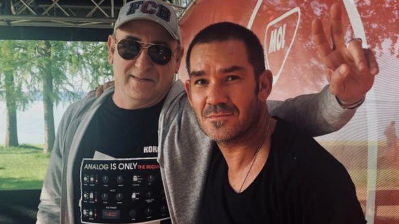 José Padilla és Candyman Zamárdiban 2019 májusában (Nagyon Balaton Official)
