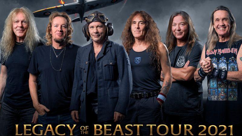 Az Iron Maiden jövő júniusban a Groupama Arénában ad koncertet