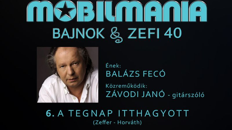 Balázs Fecó utolsó stúdiófelvétele: A tegnap itthagyott