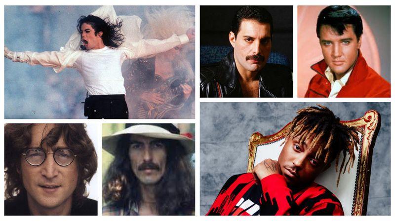 A legjobban kereső már nem élő hírességek között 8 zenész van