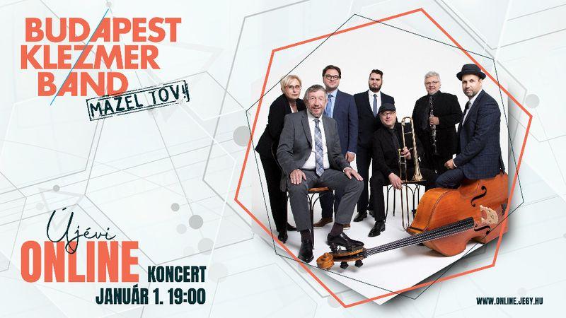 Budapest Klezmer Band: nincsen új év újévi koncert nélkül