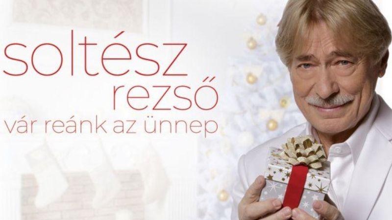 Megjelent Soltész Rezső karácsonyi albuma