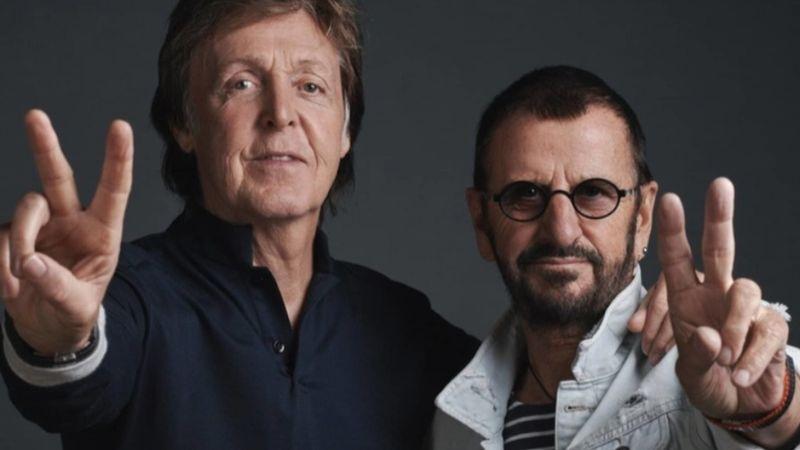 Ringo Starr új abummal jelentkezik, Paul McCartney-ról filmet forgatnak
