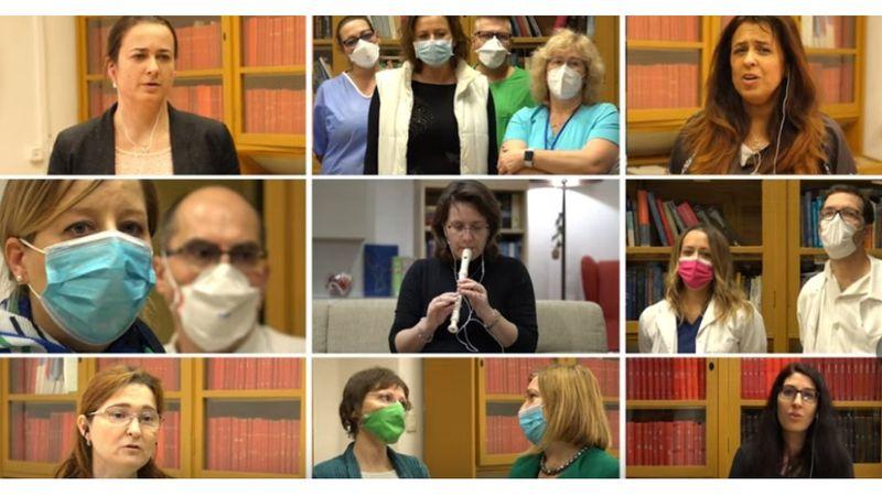 Amikor a kórházi dolgozók Presser-dalt énekelnek ♥