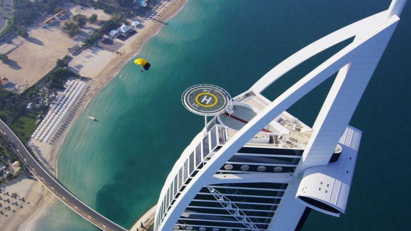 David Guetta dubaji lakos bulit tart a helikopter-leszállón