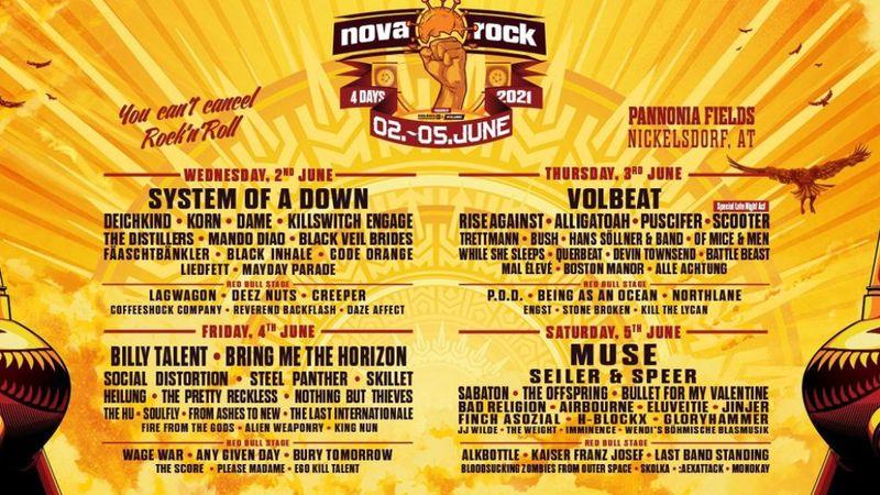 A Nova Rock cáfolja, hogy oltási igazolást kérnek a fesztiválon