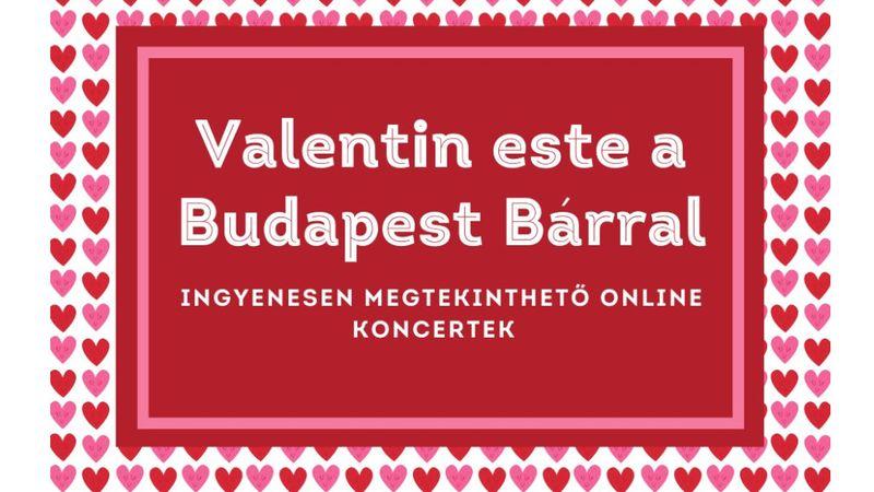 Be my valentine – a Budapest Bár így köszönti a szerelmesnapot