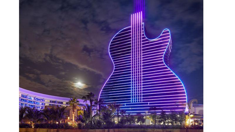 Megszállnál egy gitárhotelben?