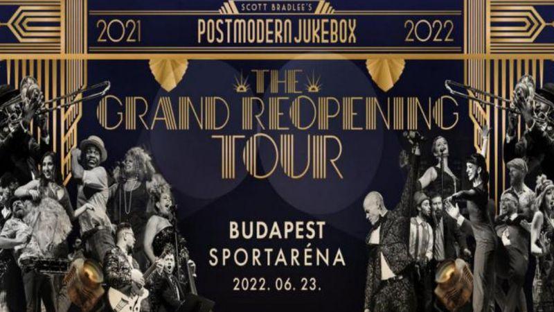 The Grand Reopening: Budapestet is értinti a Postmodern Jukebox világturnéja