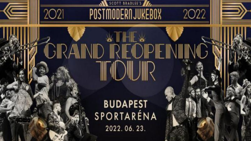 The Grand Reopening: Budapestet is érinti a Postmodern Jukebox újrainduló világturnéja