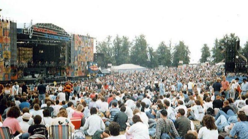 Fotó: Pink Floyd at Knebworth, 1990 (Pinterest)