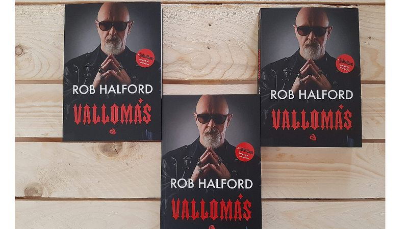 Magyarul is megjelent Rob Halford önéletrajza