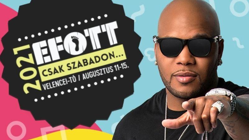 Idén végre eljut az EFOTT-ra Flo Rida