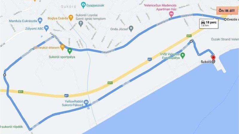 Velence Város Önkormányzata lezárná az EFOTT-ra vezető utat