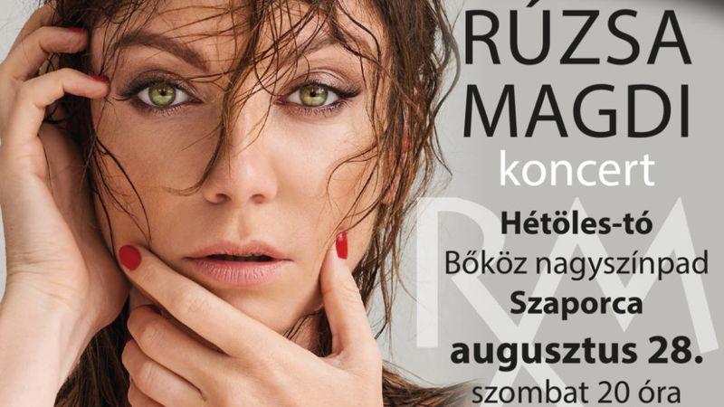 Hogy kerül Rúzsa Magdi Szaporcára?