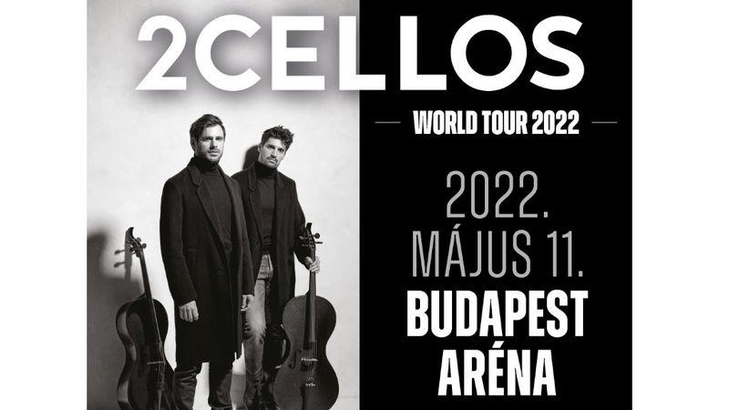 A 2CELLOS bejelentette a búcsúturnét – Budapesten kezdődik a koncertkörút
