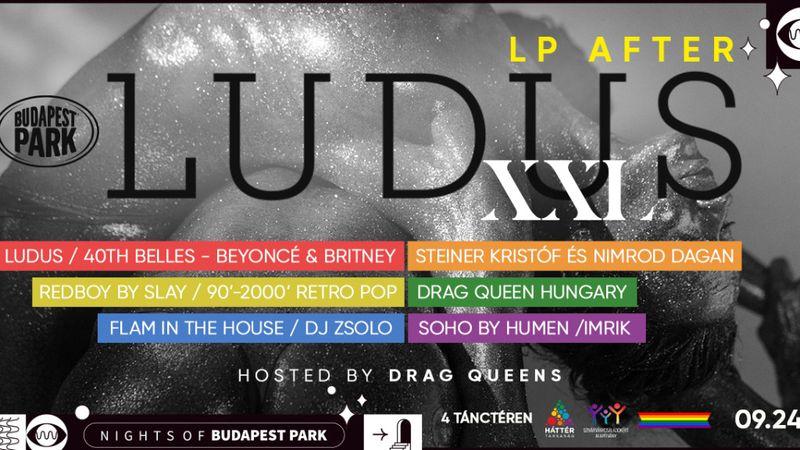 LP koncertje után a Parkban: Ludus XXL parti