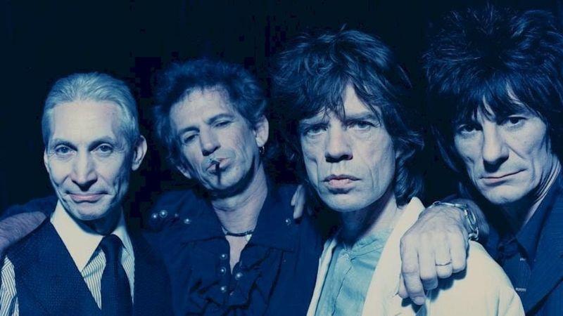 The Rolling Stones –1994 (Dante D'Orazio fotója a zenekar FB oldaláról)