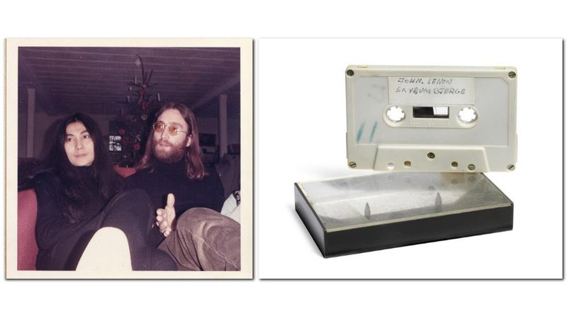 Lennon '70-ben eljátszott nekik néhány dalt, most egy kisebb lakás áráért elárvereztették a felvételt