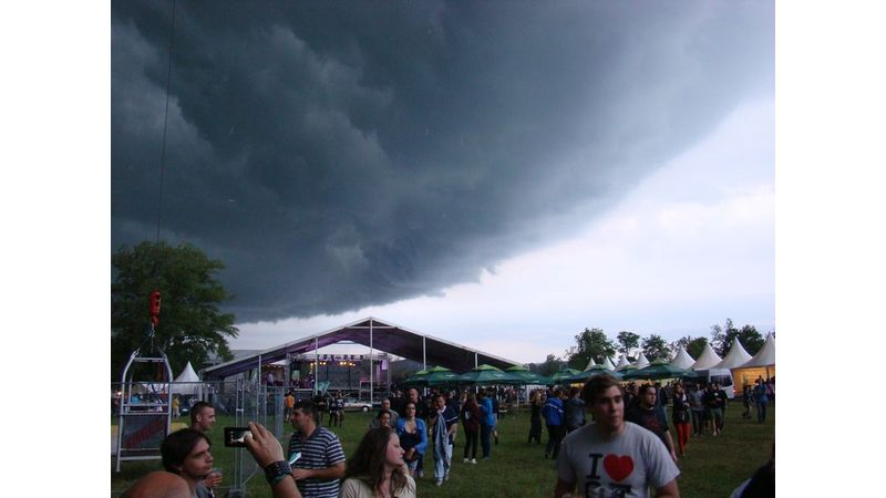 Lecsapott a vihar a Pannónia Fesztiválra
