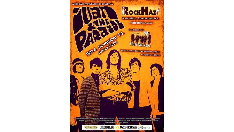 Rockház: az Ivan & The Parazol lerohanja Budakalászt