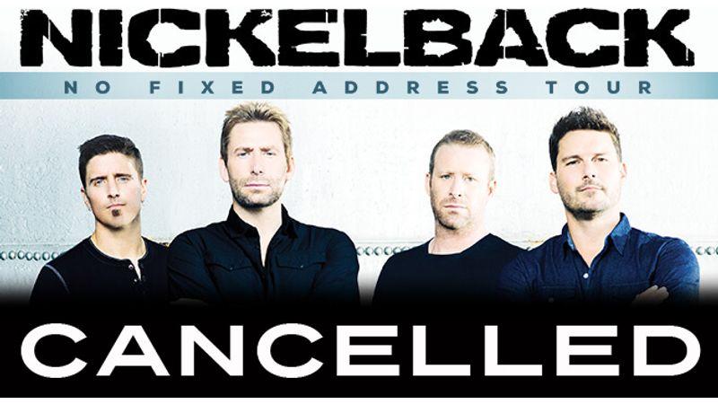 BRÉKING! Elmarad a Nickelback-koncert. Meg a komplett turné is!