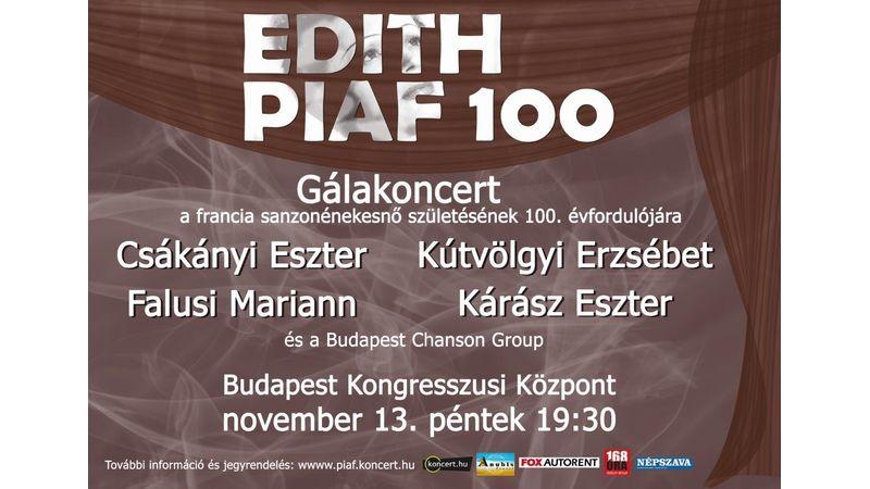 Edith Piaf emlékkoncert a Kongresszusi Központban