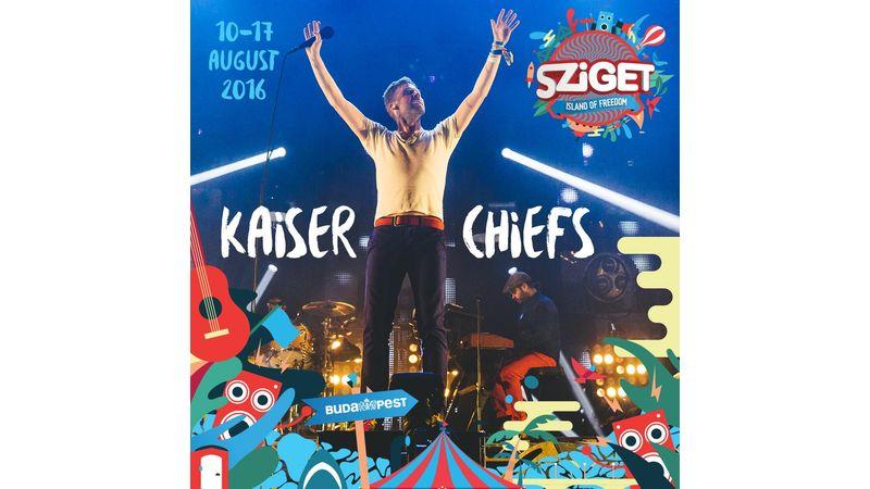 Hardwell, Manu Chao és a rég látott Kaiser Chiefs is a Szigetre tart