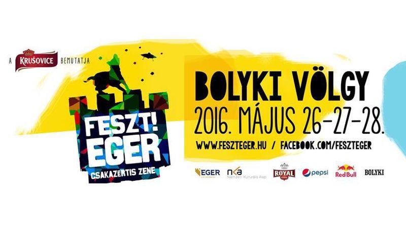 Idén is Egerben indul a fesztiválszezon! - Teljes a fellépők listája a 2016-os Feszt!Egeren