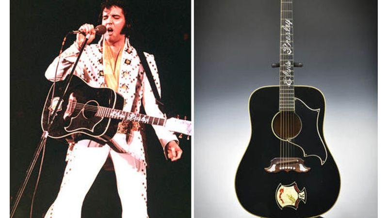 Ennyi pénzért talált gazdára Elvis Presley gitárja, Lady Gaga Zongorája senkinek sem kellett
