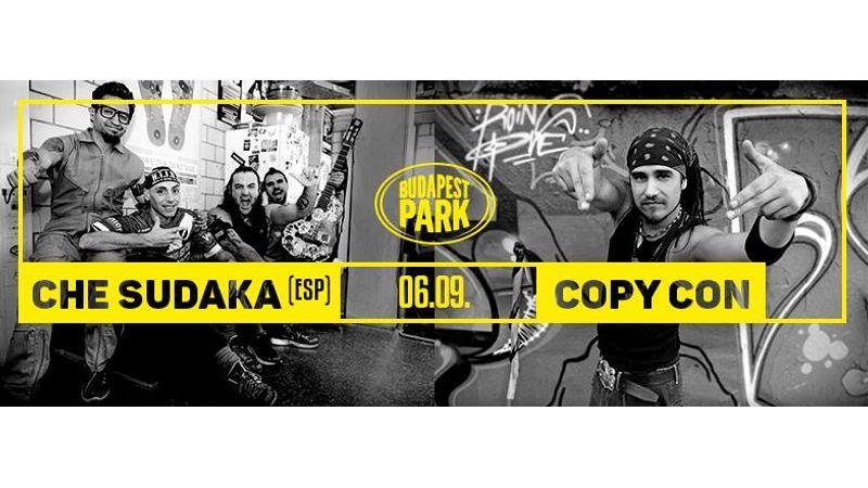 Nyárindító Reggae-ünnep a Budapest Parkban Copy Con és Che Sudaka segédletével