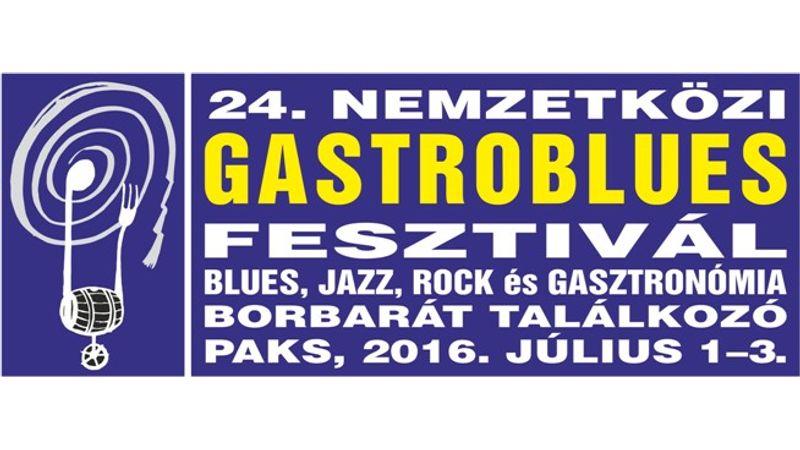 Öt színpadon ötven koncert a paksi Gastroblues Fesztiválon