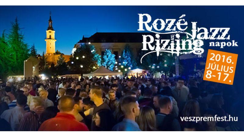 Rozé, rizling és jazz 10 napon át Veszprémben