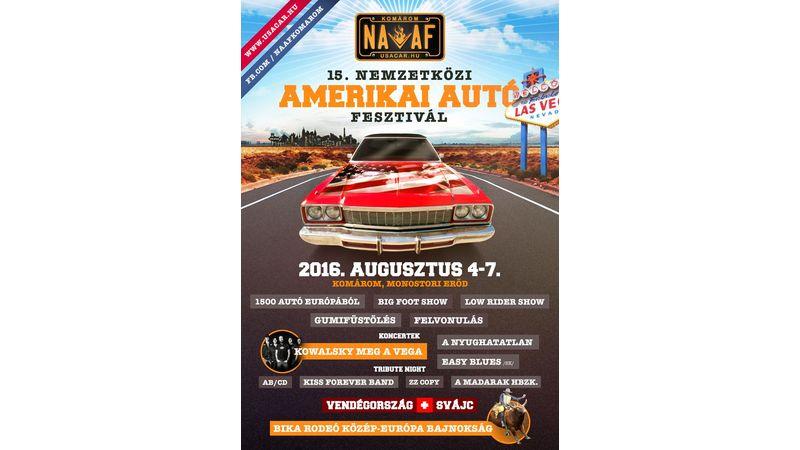 Knight Rider és társai Komáromban: 15. jubileumi Nemzetközi Amerikai Autó Fesztivál