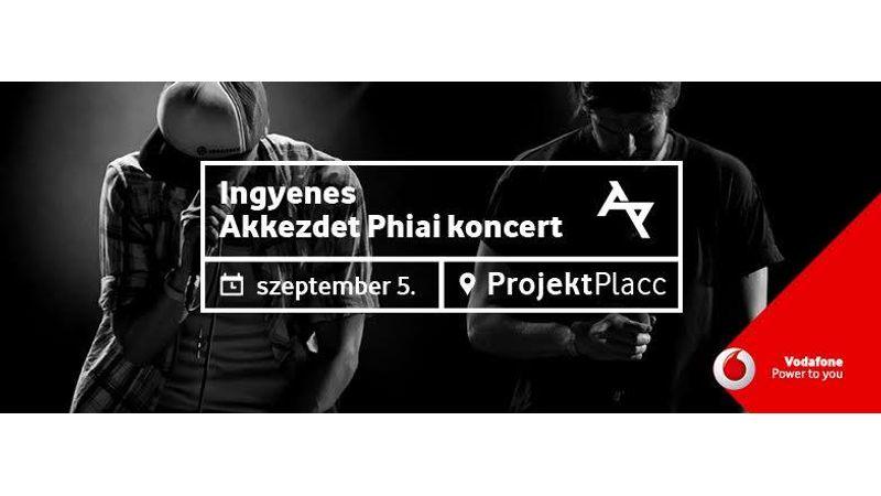 Ingyenes AkkezdetPhiai koncert a campuson