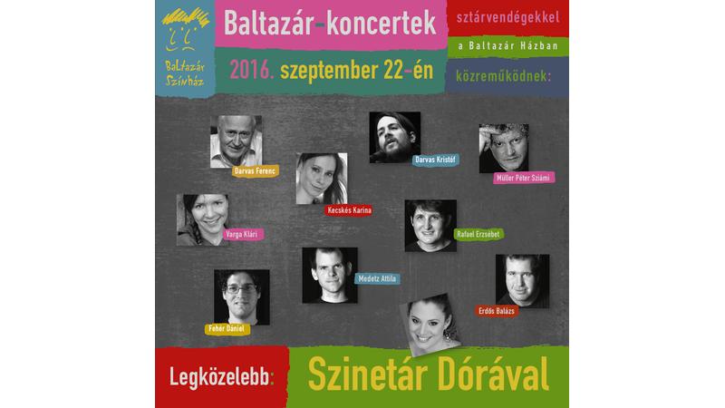Csütörtököt mondunk! Koncertsorozatot indít a Baltazár Színház