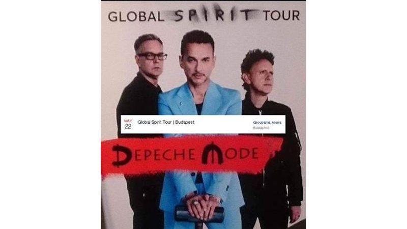 Újra Budapestre jön a Depeche Mode!