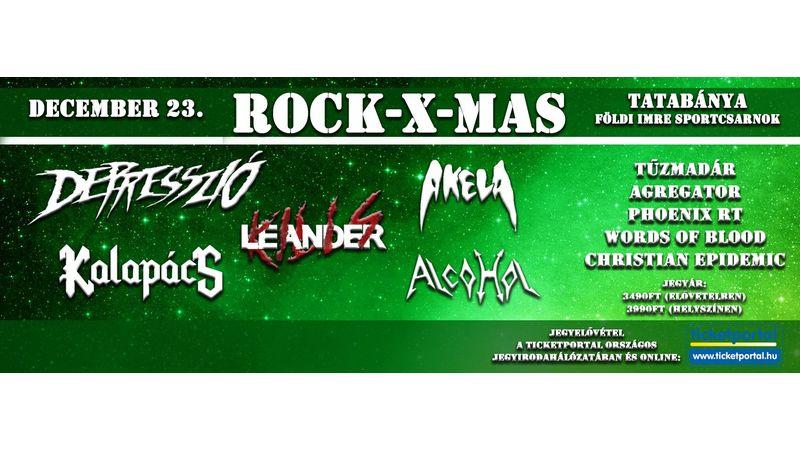 Nagyszabású Rock-X-Mas a Földi Imre Sportcsarnokban