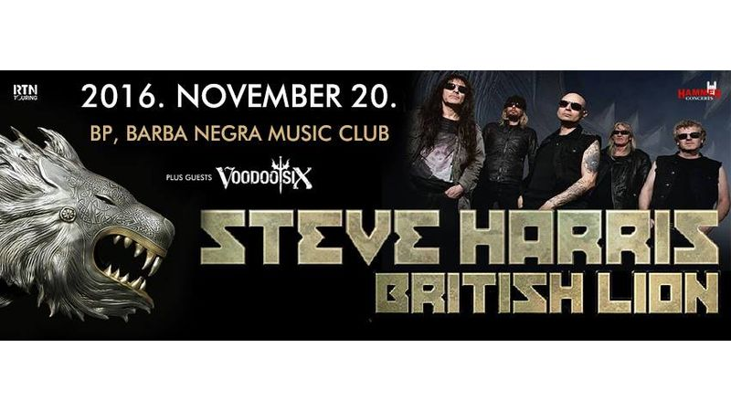 Steve Harris (Iron Maiden) vasárnap a Barba Negrában!