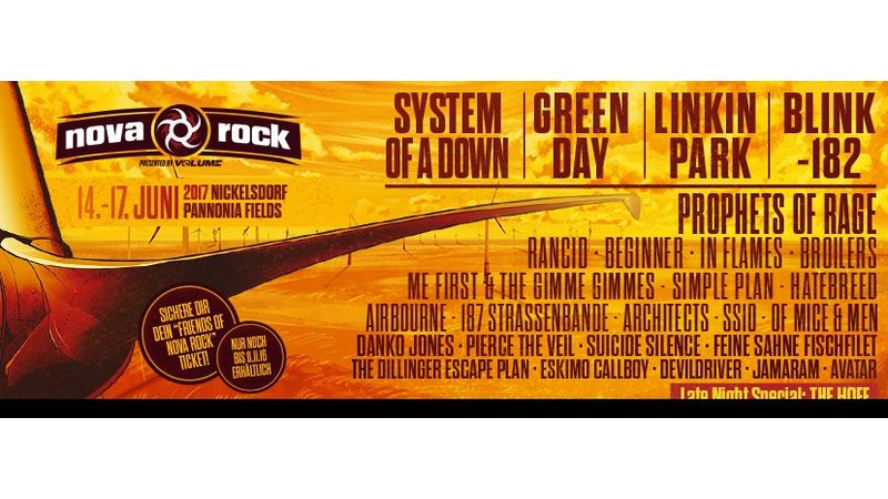 System Of A Down, Green Day, Linkin' Park, Blink-182...