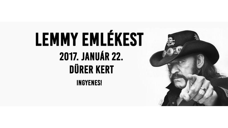 Lemmyre emlékeznek a Dürerben