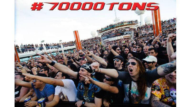 70000 tonna metál!!!! Magyar banda is beszáll a híres fesztiválhajóba