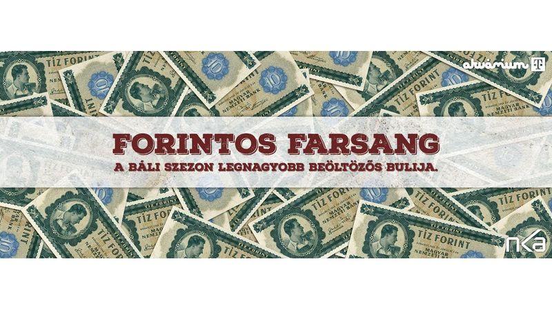 Forintos Farsang: majdnem kétszázezer forint a legjobb jelmezek jutalma