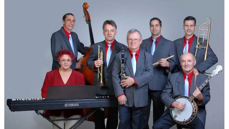 Azok a régi csibészek...: Reflektorfényben a Molnár Dixieland Band