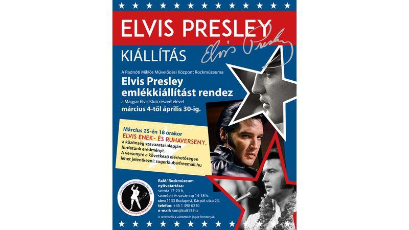 Elvis Presley emlékkiállítás a Rockmúzeumban