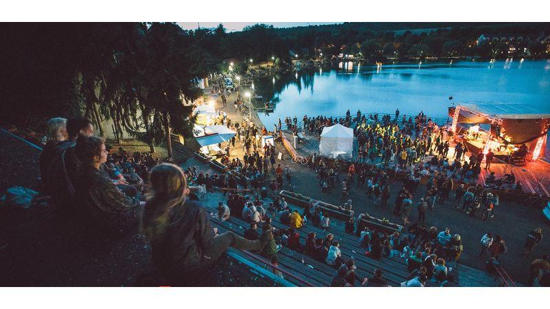 Már külföldiek is kitekernek a tóra: Bánkitó fesztivál